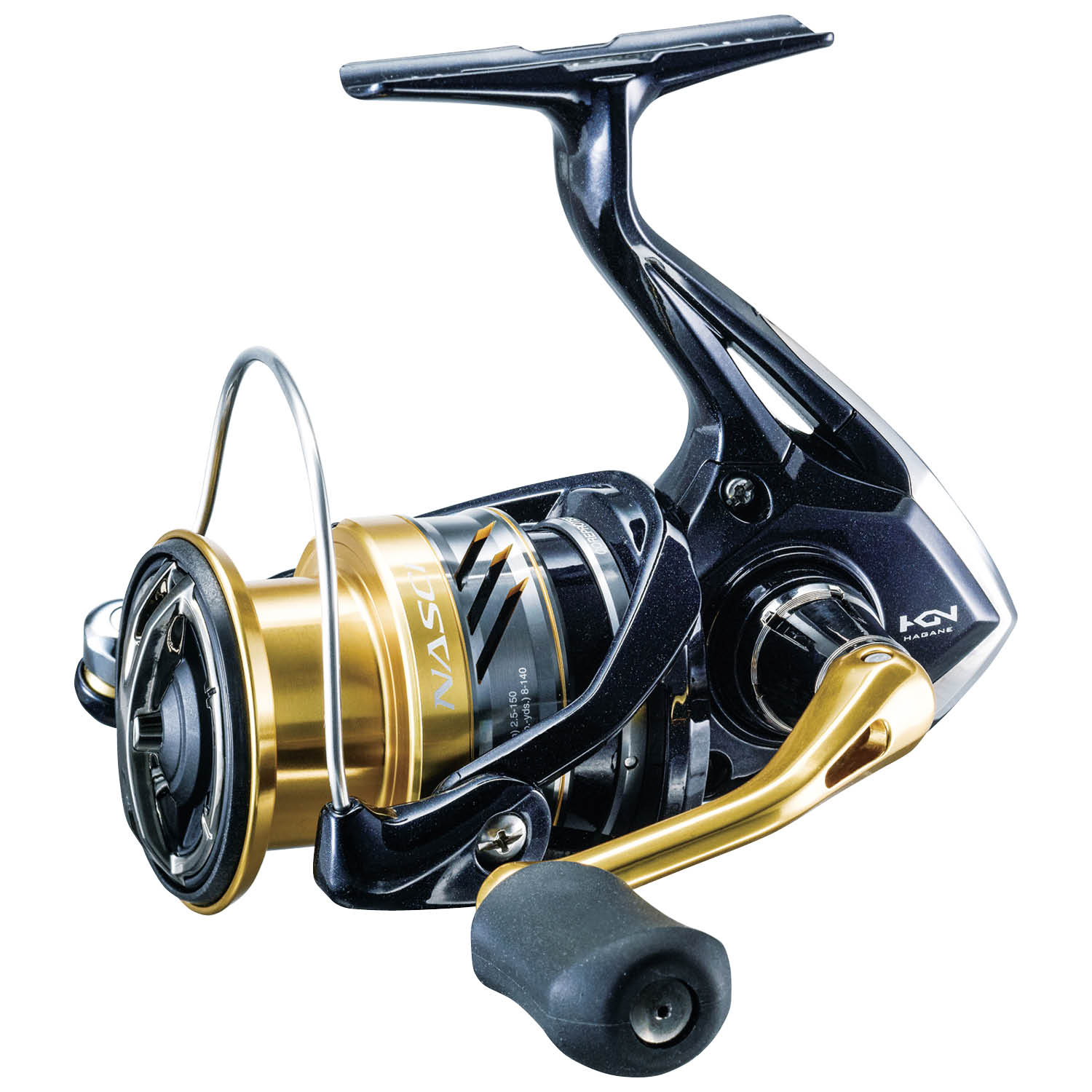 1RB 5.6:1 NAS500FB 4BB Front Drag NEW SHIMANO Nasci 500 Spinning Reel
